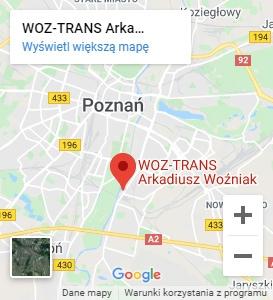 Lokalizacja firmy Woz-Trans