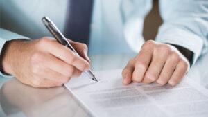 Podpisanie umowy przewozu